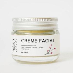 Creme facial Peles Secas e Maduras Trópica Botânica